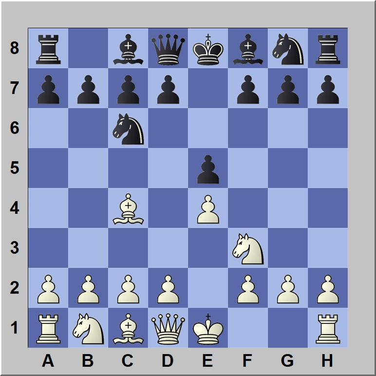 De italiaanse schaakopening