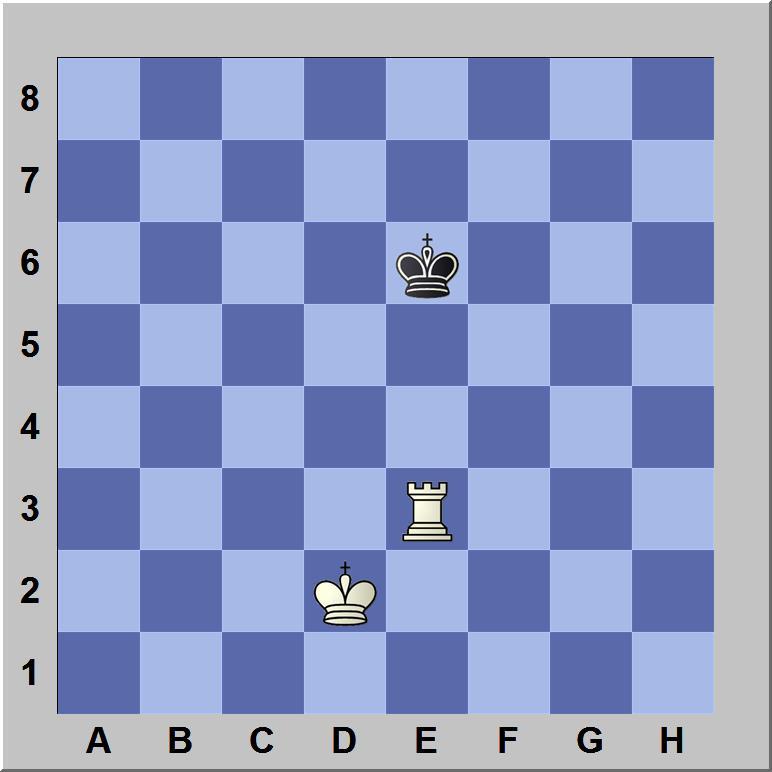 De koning staat schaak